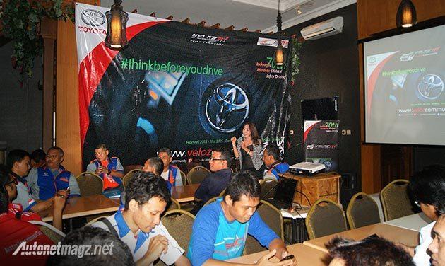 Kampanye Keselamatan Berlalu lintas oleh Velozity dan Toyota Astra Motor