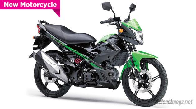 Kawasaki Athlete Pro baru 2015 warna hitam hijau