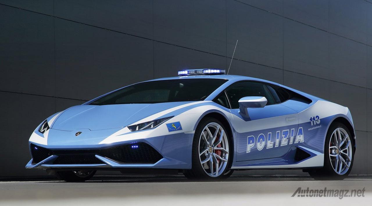 Lamborghini-Huracan-Polisi