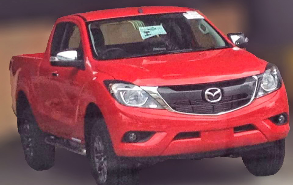 Mazda-BT-50-facelift-spy-shot