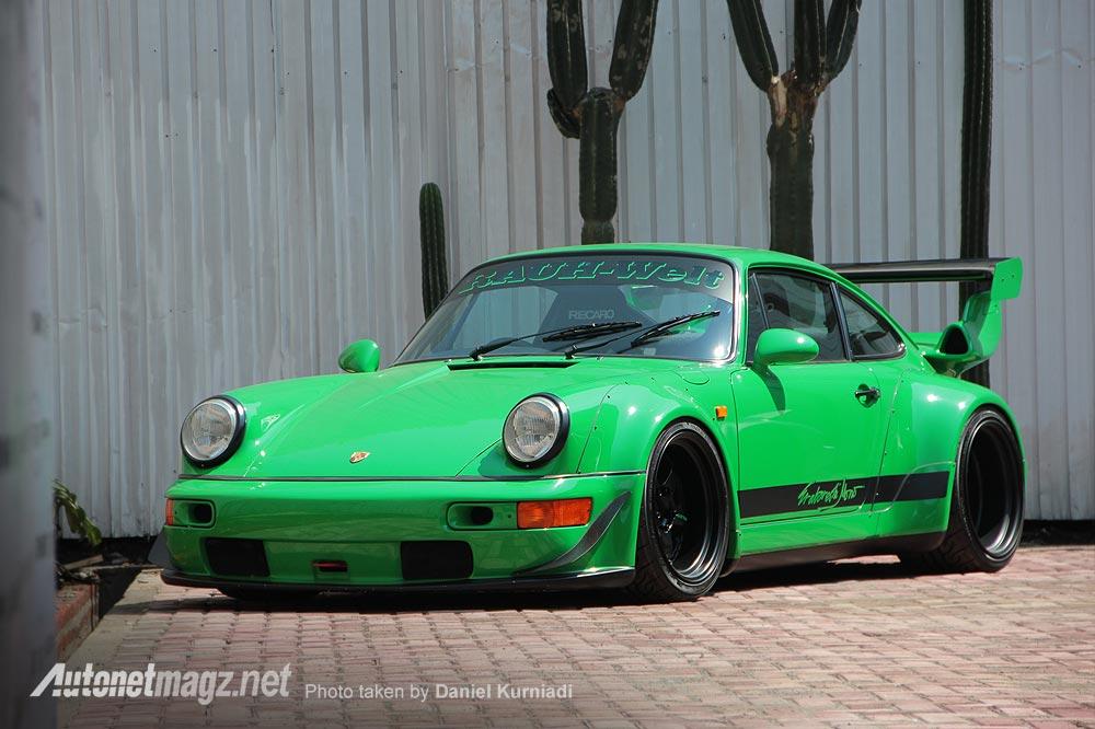 Porsche RWB Erabareshi Mono Rauh-Welt Begriff Indonesia