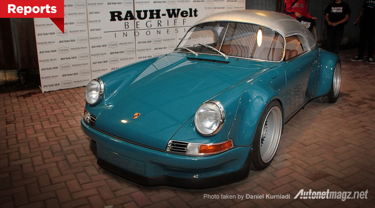Porsche Speedster RWB Indonesia