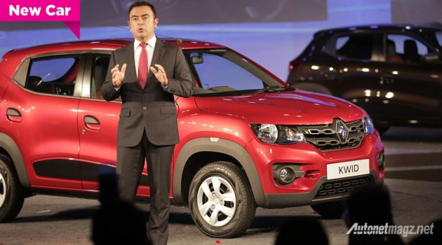 Renault Kwid small crossover city car 2015