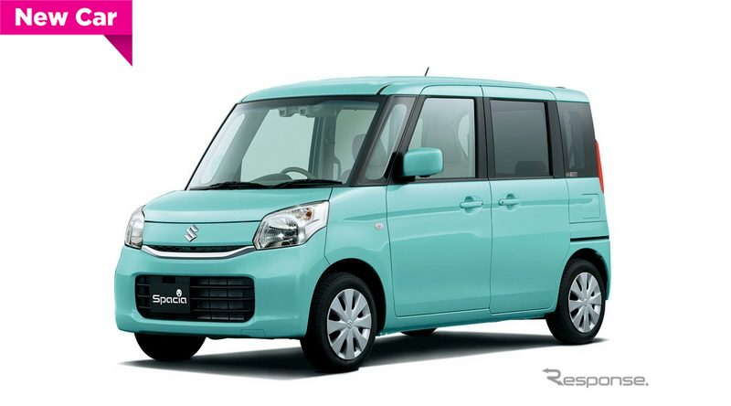 Suzuki-Spacia-Green