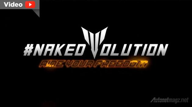 Teaser motor sport baru Yamaha Indonesia Yamaha Nakedvolution