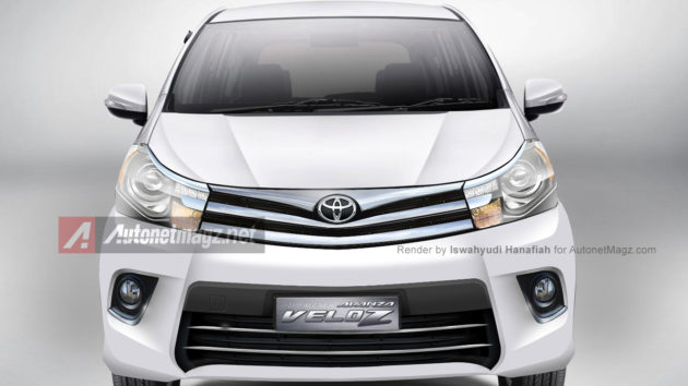 Toyota Avanza all new 2015 full major change render AutonetMagz