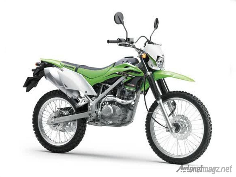 Kawasaki Meluncurkan Kawasaki KLX 150 Baru Shock Sudah Up