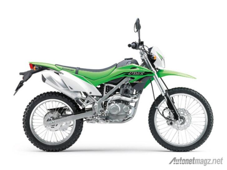 Kawasaki Klx 150 Bf Side