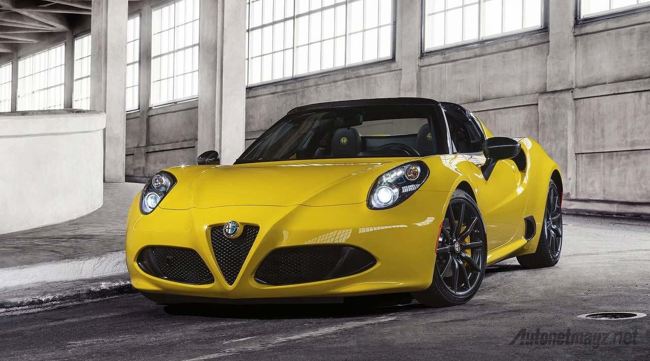 Alfa-Romeo-4C-Spider-Yellow
