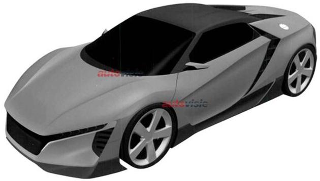 Honda Concept Sportscar front quarter