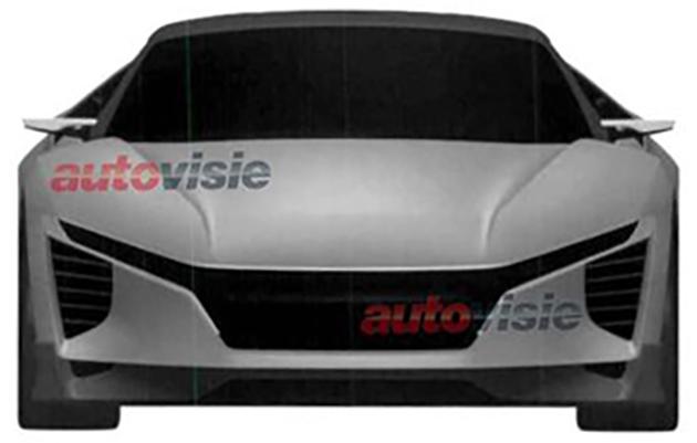 Honda Concept Sportscar front