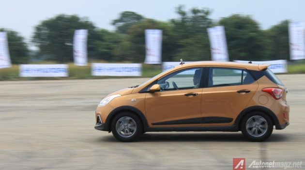 Hyundai Grand i10X Test