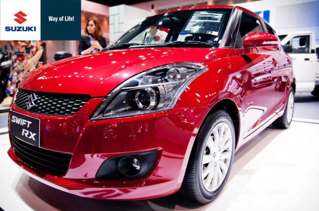 Suzuki Swift RX dengan projector headlamp