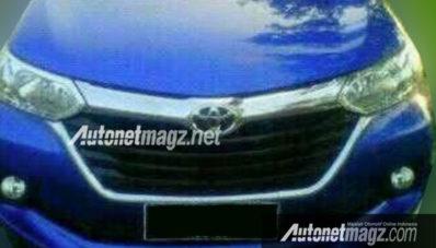 Ini Dia Spyshot Foto Toyota Avanza Facelift 2015 Aneh