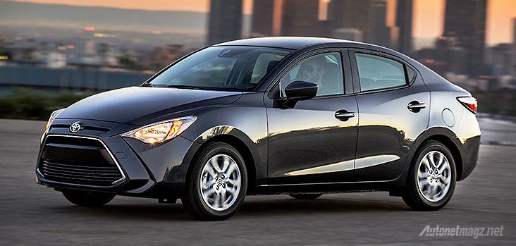 Toyota Yaris sedan dengan basis Mazda2 SkyActiv sedan hadir di Kanada