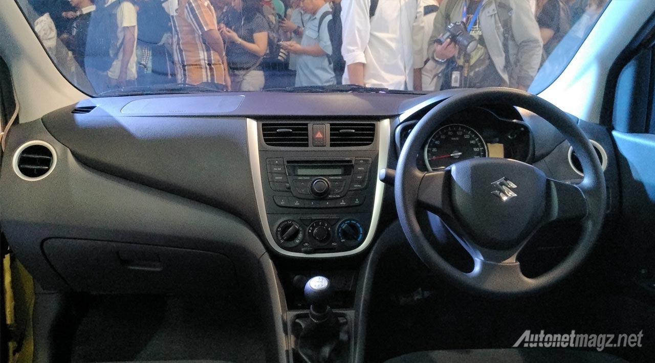 Berita, interior-suzuki-celerio: First Impression Review Suzuki Celerio oleh AutonetMagz