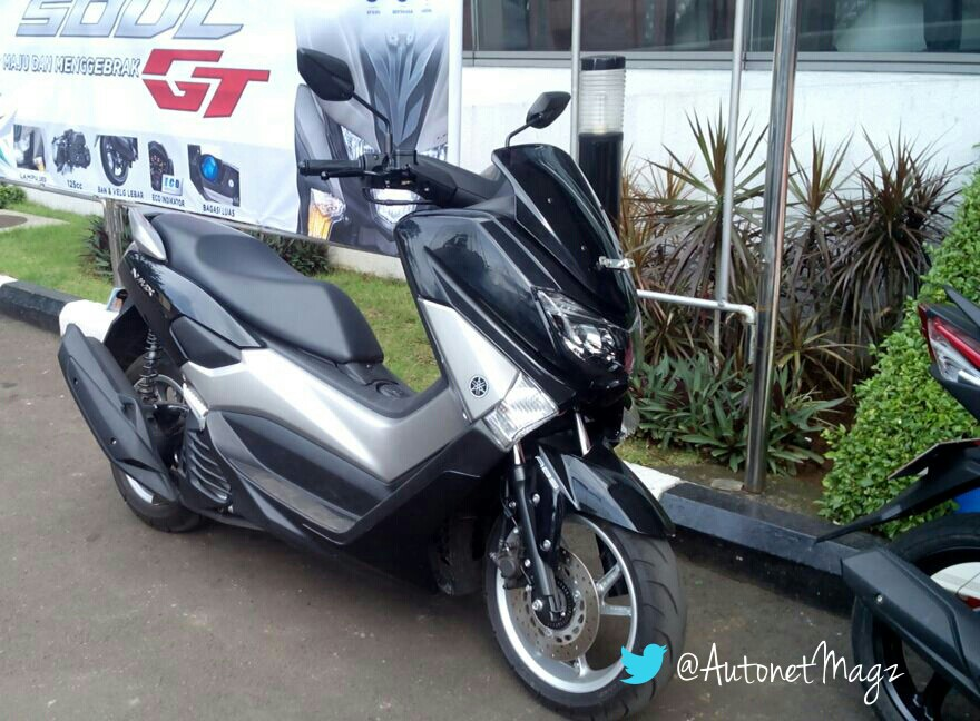 Open Booking Yamaha Nmax Non Abs Front Autonetmagz Review Mobil