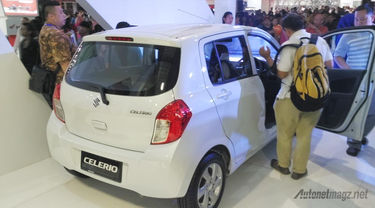 Berita, suzuki-celerio-belakang: First Impression Review Suzuki Celerio oleh AutonetMagz