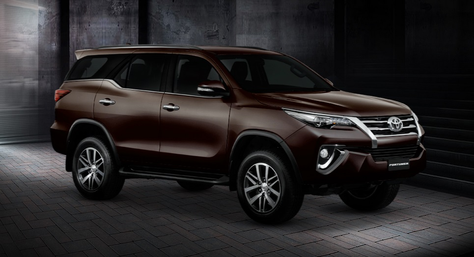All New Fortuner Di Thailand 2015 | Autos Post