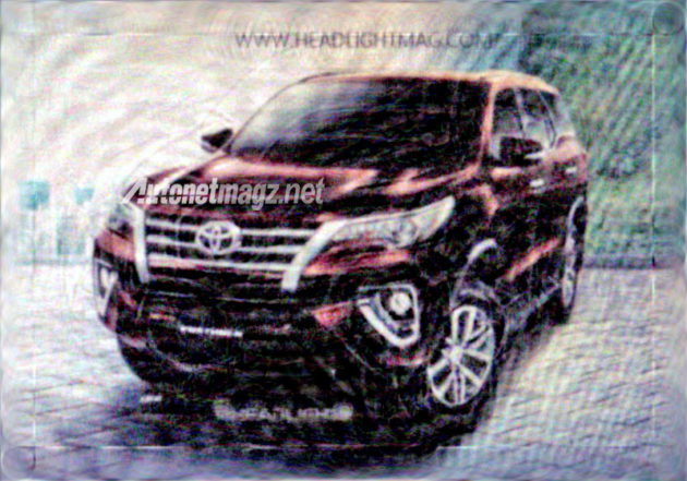 All New Toyota Fortuner 2015 - 2016