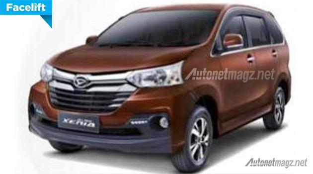 Daihatsu Xenia baru facelift 2015