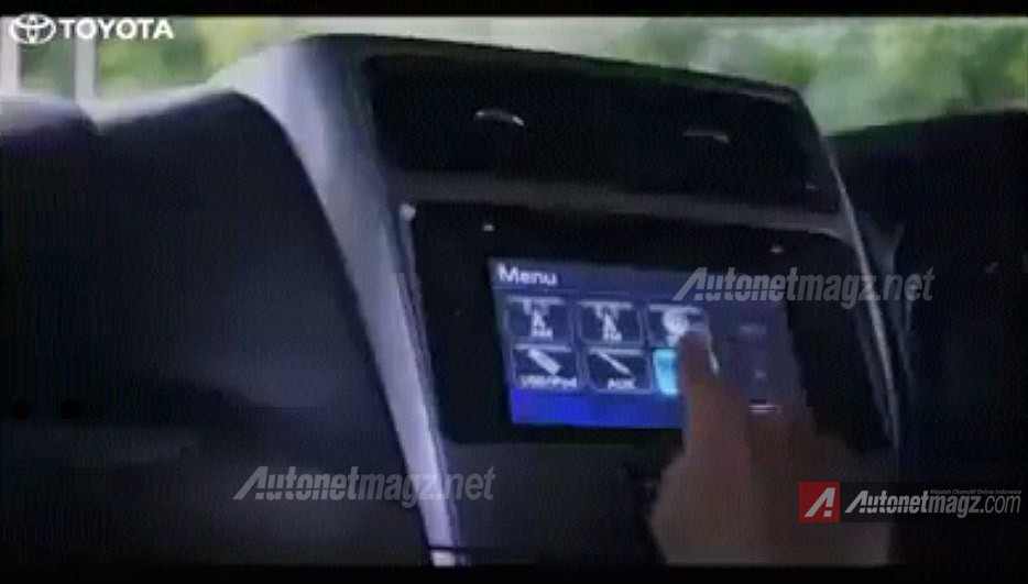 Head unit audio touch screen Toyota Grand New Avanza baru 2015