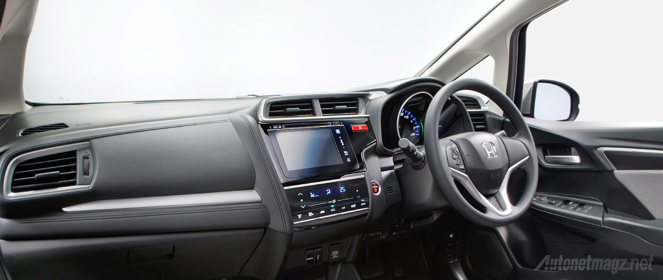 Interior Honda BR-V akan mirip dengan interior dashboard All New Honda Jazz GK5