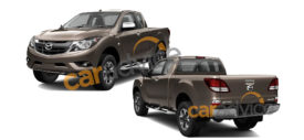 Mazda BT50 single cabin 2015 tanpa bak