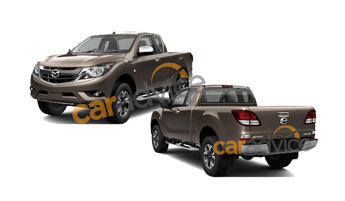 Mazda BT50 single cabin 2015