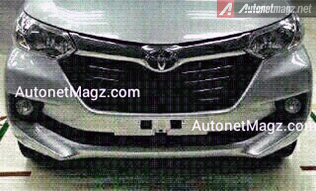 New Avanza 2015 facelift