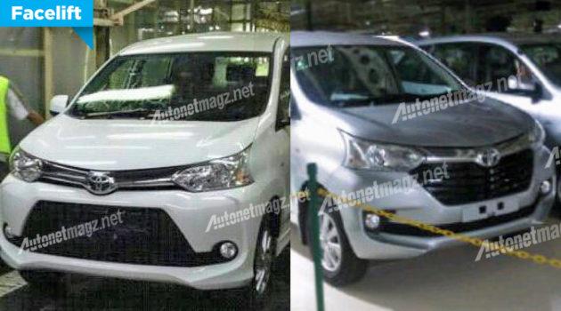 Toyota Avanza baru dan New Toyota Veloz facelift 2015