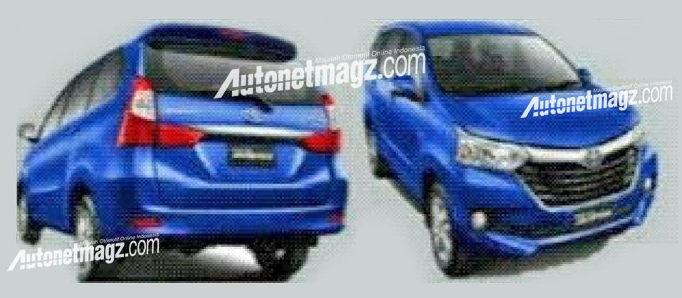 Toyota Avanza baru facelift 2015 - 2016