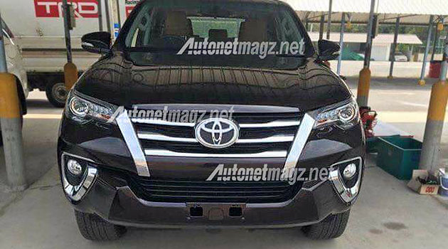 Toyota Fortuner baru all new 2015 - 2016