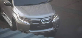 spy shot mitsubishi all new pajero sport