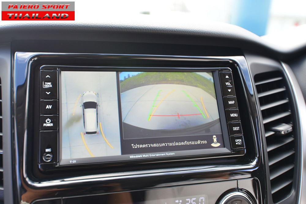 All New Pajero Sport 2015 Head Unit