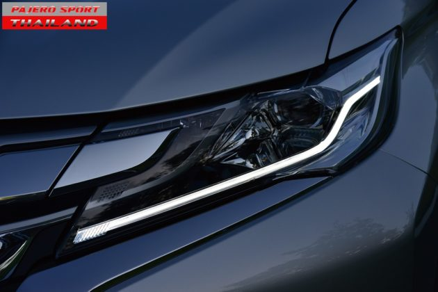 All New Pajero Sport 2015 Headlight