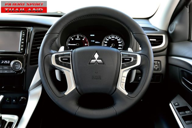 All New Pajero Sport 2015 Speedometer