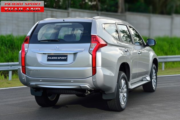 All New Pajero Sport 2016 Rear