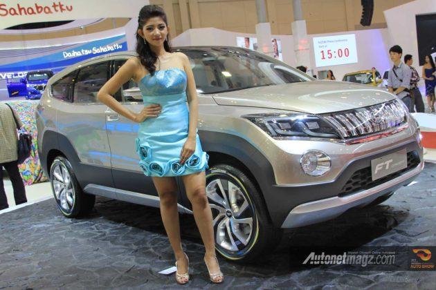 Daihatsu SUV 7 seaters FT Concept