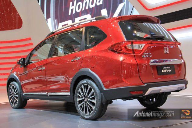 Fitur dan warna Honda BR-V