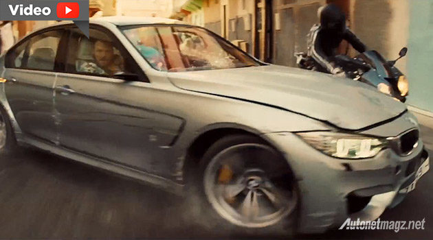 Mobil BMW di film Mission Impossible Rogue Nation