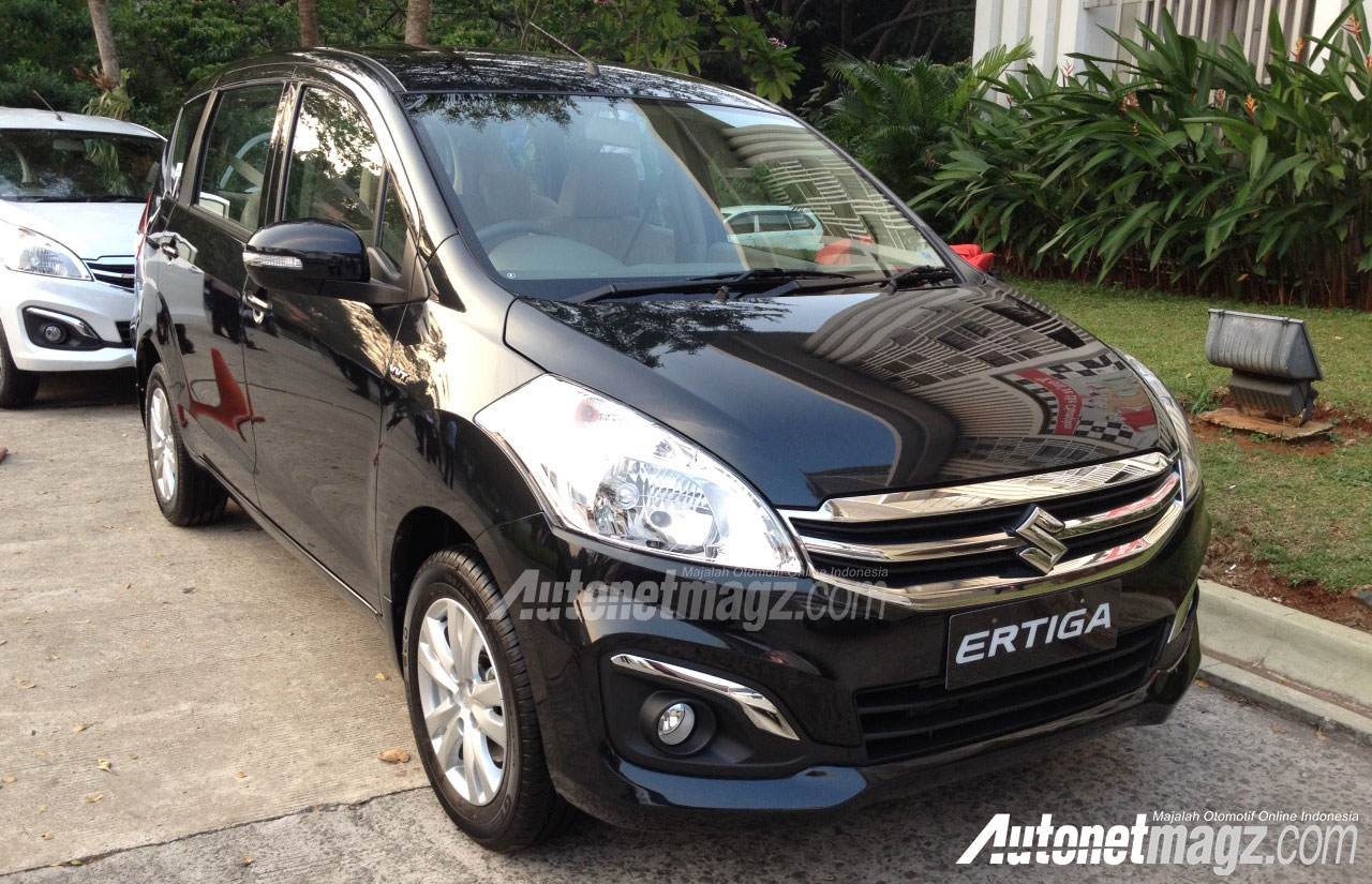 First Impression Review Suzuki Ertiga Facelift 2015