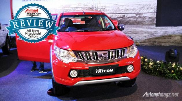 Review Mitsubishi Triton baru 2015 AutonetMagz