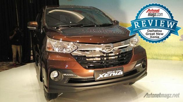 Review Xenia baru Daihatsu Great New Xenia 2015