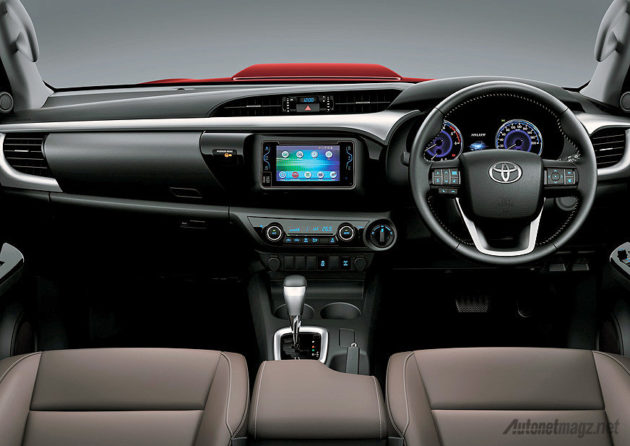 kabin interior All New Toyota Hilux baru 2015