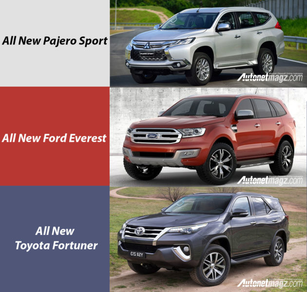komparasi-pajero-sport-ford-everest-toyota-fortuner