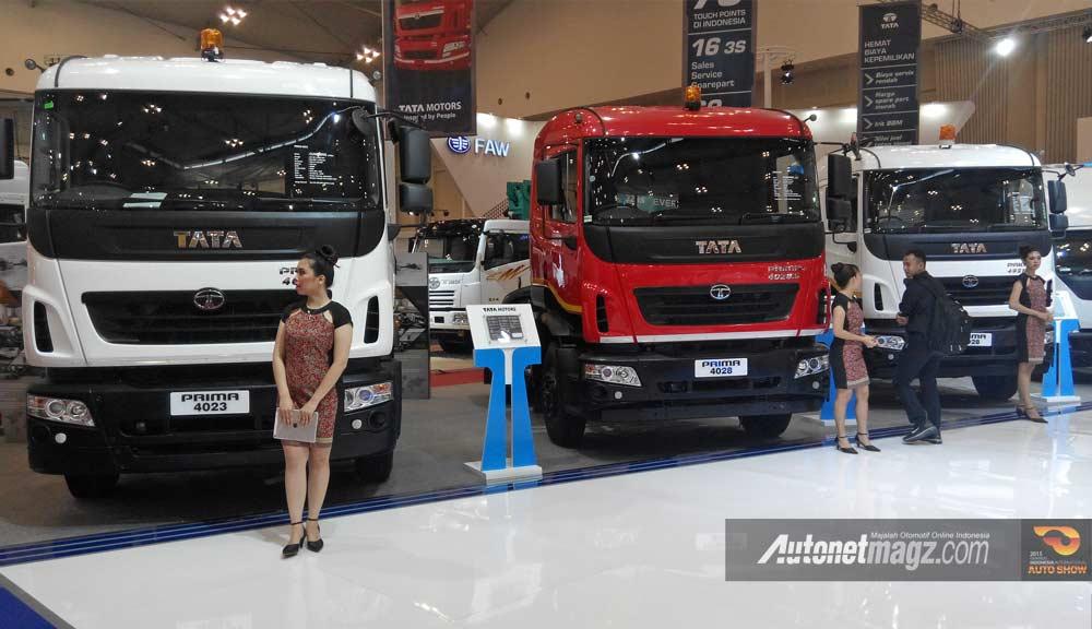truk besar Tata Prima