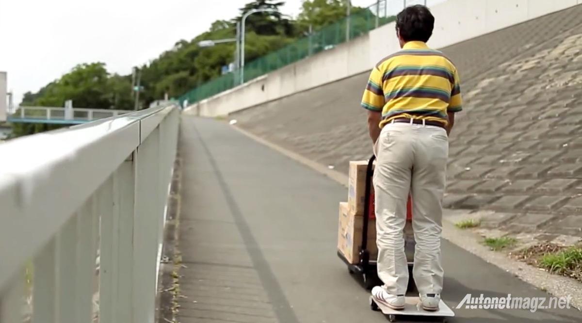 walkcar-uphill
