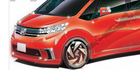 2016 All New Honda Freed baru depan