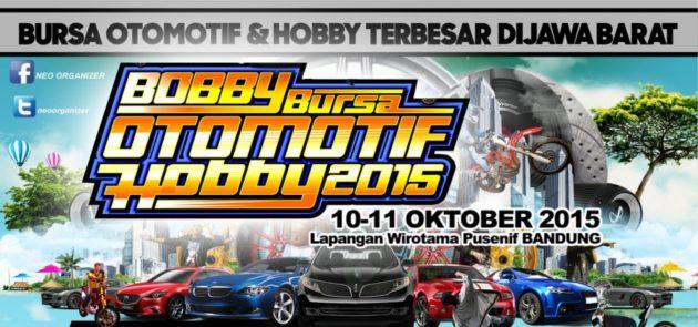 Bursa Otomotif dan Hobby Bandung 2015